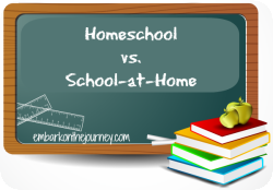 Homeschooling or School-at-Home