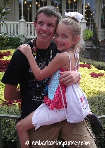 Logan and Em at WDW