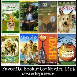 Read-Aloud Books-to-Movies List