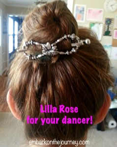 Lilla Rose is the perfect accessory for your little #dancer! | embarkonthejourney.com