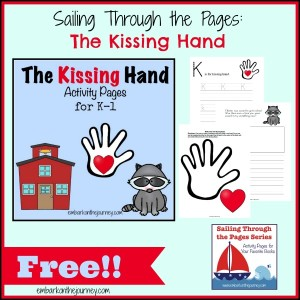 The Kissing Hand FREE Activity Pages for K-1