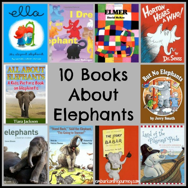 10 Books About Elephants | embarkonthejourney.com