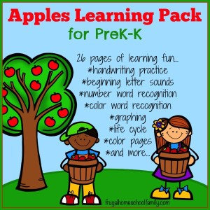 Apples Learning Pack