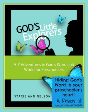 God's Little Explorers Preschool Bible Curriculum – A Review