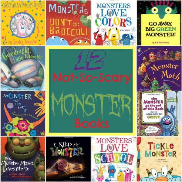 12 Not-So-Scary Monster Books | embarkonthejourney.com