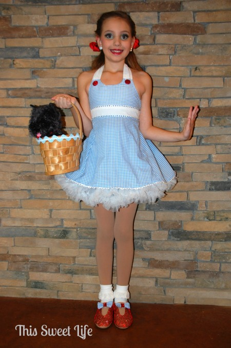 Because the Dorothy costume was a dance costume she didnu0027t wear it for Halloween. There was just too much risk of ruining it and having to make yet another ...  sc 1 st  Embark on the Journey & Last-Minute Homemade Halloween Costume Ideas