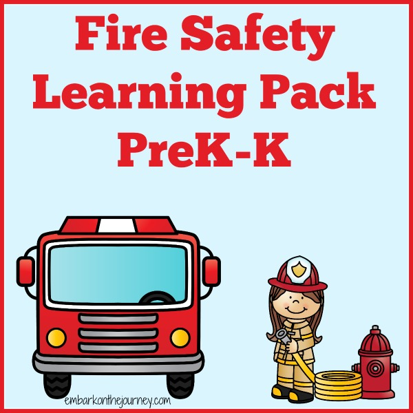 Fire Safety Printables and Activities PreKK – Fire Safety Worksheets for Kindergarten