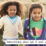 Why Homeschool? Kids Can Go At Their Own Pace