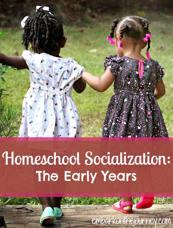 Homeschool Socialization: The Early Years | embarkonthejourney.com