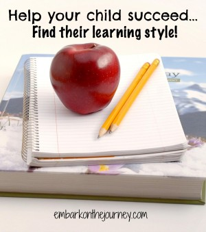 Help Your Child Succeed by Finding His Learning Style