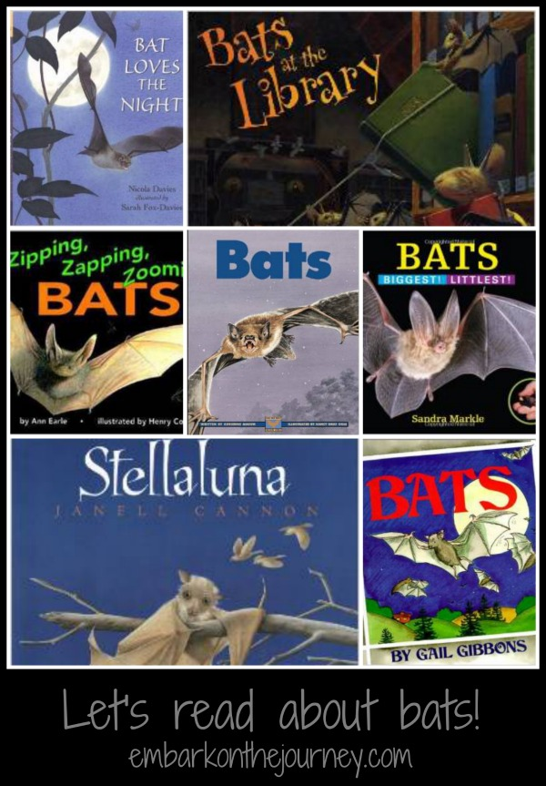 Let's read about bats! | embarkonthejourney.com