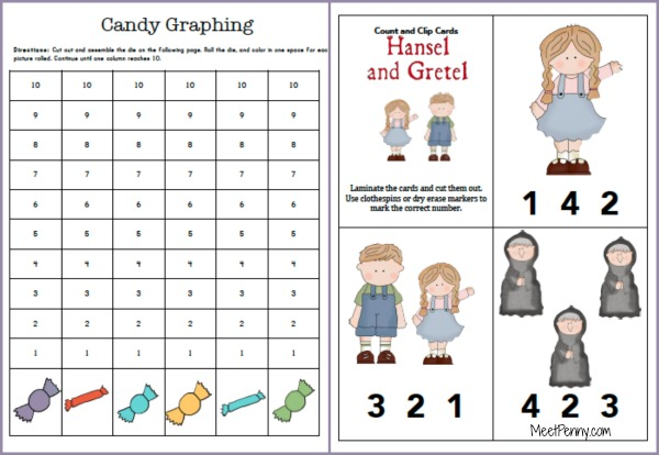 hansel and gretel worksheets for kindergarten hansel