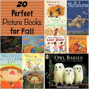 20 Perfect Picture Books for Fall {Link Up}