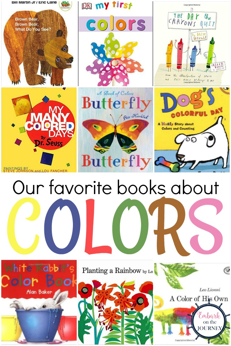 Our Favorite Books for Teaching Colors {Free Printable}