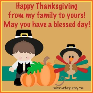 Happy Thanksgiving from EOTJ