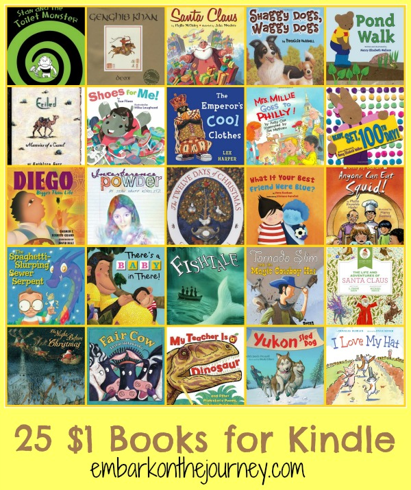 25 $1 Books for Kindle | embarkonthejourney.com