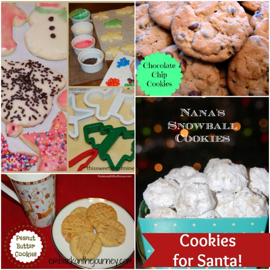 Cookies for Santa | embarkonthejourney.com