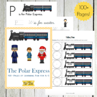 Polar Express Printable and Unit Study Resources