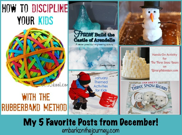 5 on the FIFTH: My 5 favorite posts from the past month!   embarkonthejourney.com