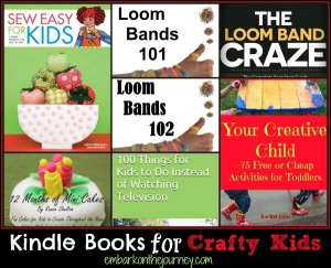 Kindle Books for Crafty Kids