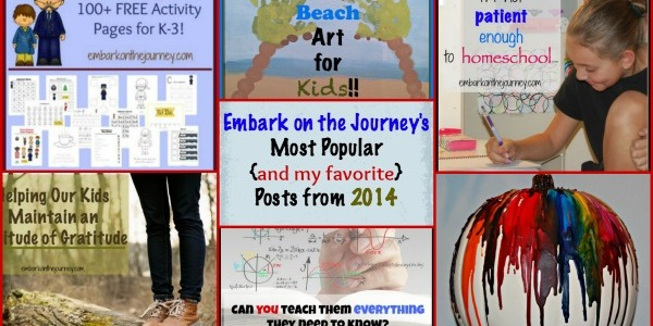 A Look Back at 2014: My Most Popular and Favorite Posts