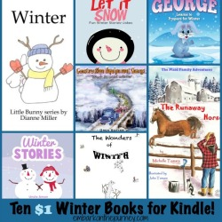 Ten $1 Winter Kindle Books for Kids