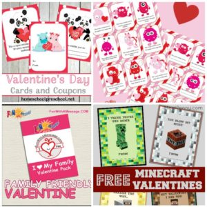 These free Valentine's Day cards are perfect for class parties and loved ones. There are over 30 choices of printable Valentines. | @homeschljourney