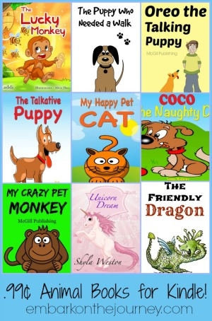 99¢ Animal Books for Kindle