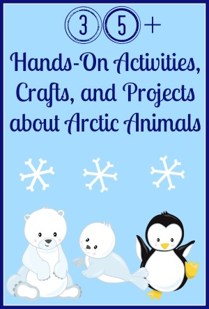Arctic Animal Crafts, Books, and Unit Studies