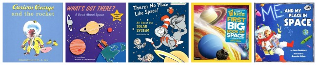 Science Picture Books: Astronomy | embarkonthejourney.com