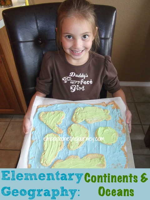 Continents and Oceans Unit Study: Books, Printables, and Hands-On Projects | embarkonthejourney.com