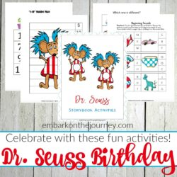 Dr. Seuss Activities and Printables for Early Learners