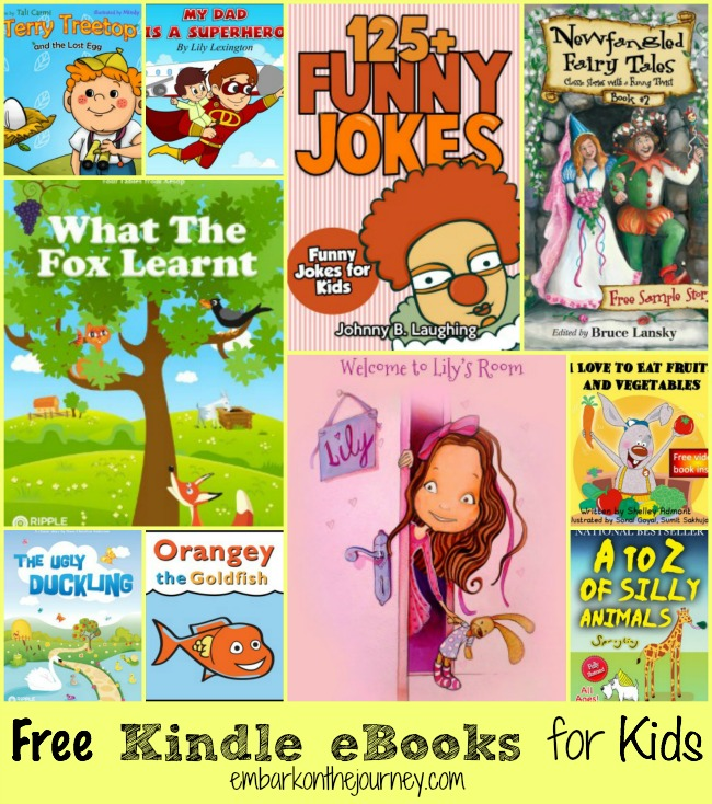 Free Kindle eBooks for Kids