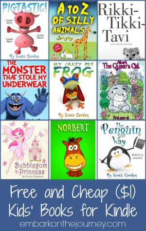 Free and Cheap Kids Books for Kindle 2.28.15
