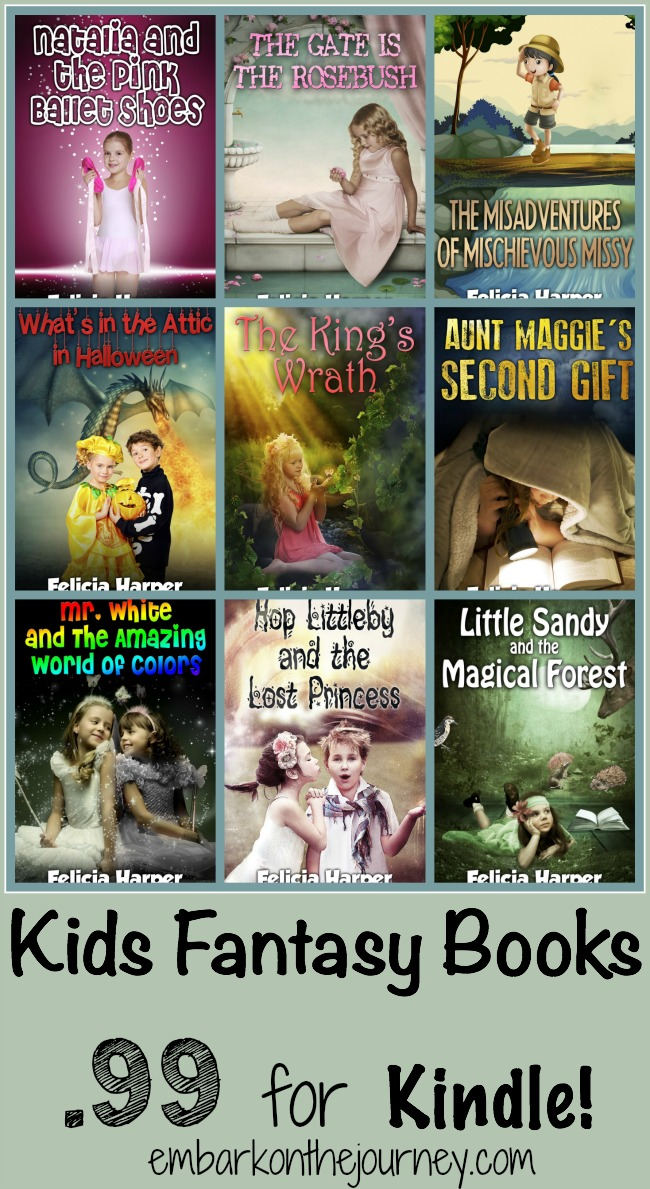 Kids Fantasy Books for Kindle | embarkonthejourney.com