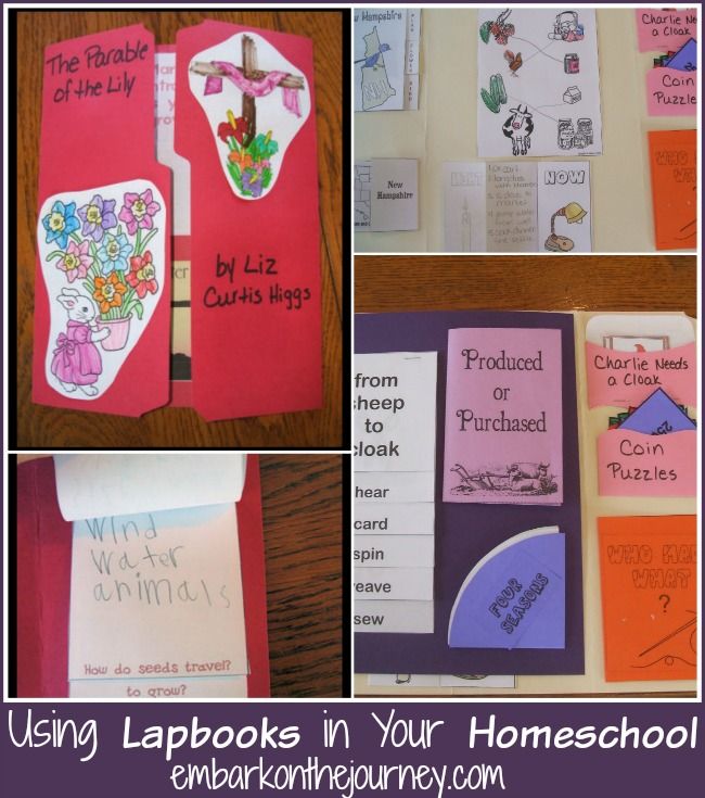 Using Lapbooks in Your Homeschool | embarkonthejourney.com