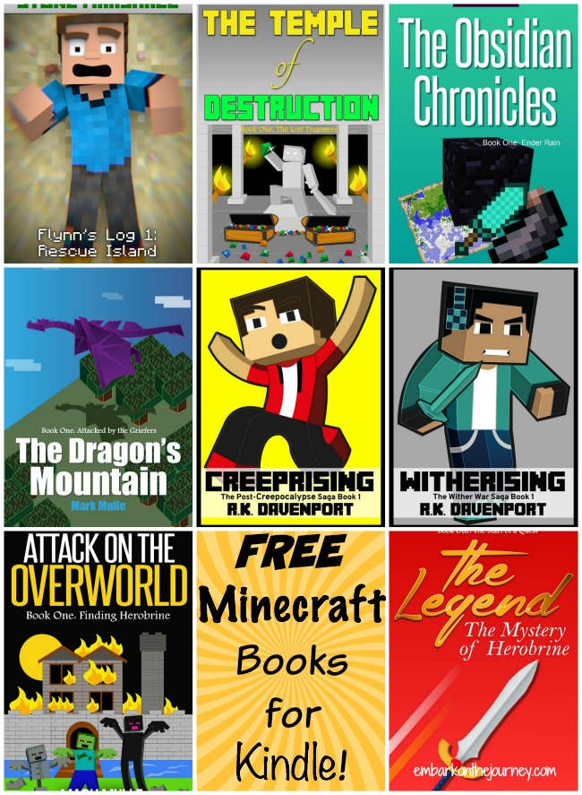 Free Minecraft Books for Kindle