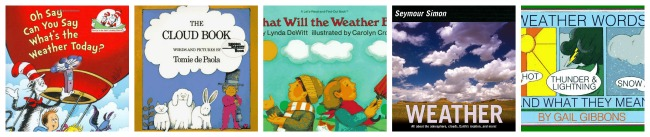 Science Picture Books: Weather | embarkonthejourney.com
