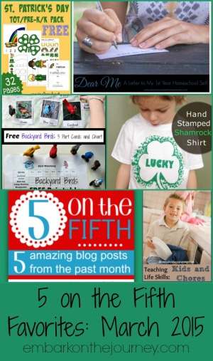 5 on the Fifth: March 2015