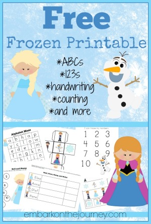 Shocking image within free frozen printable