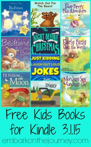 Free Kindle Books for Kids 3.1.15