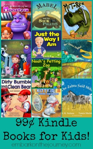 99¢ Kindle Books for Kids 3.3.15