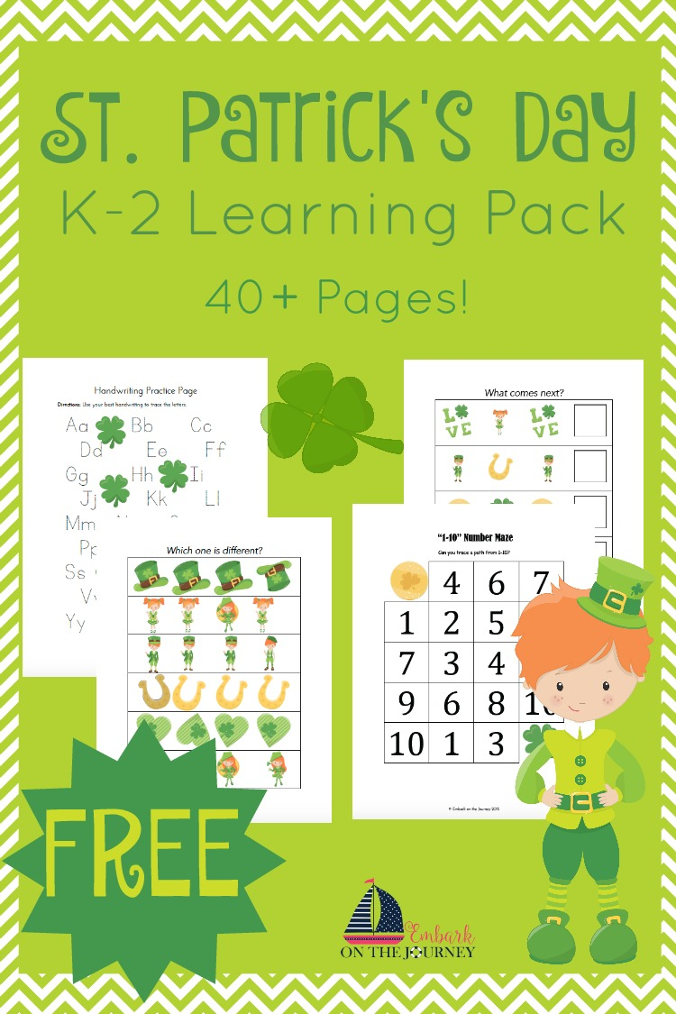 St. Patrick\'s Day Printable and Activities for Kids