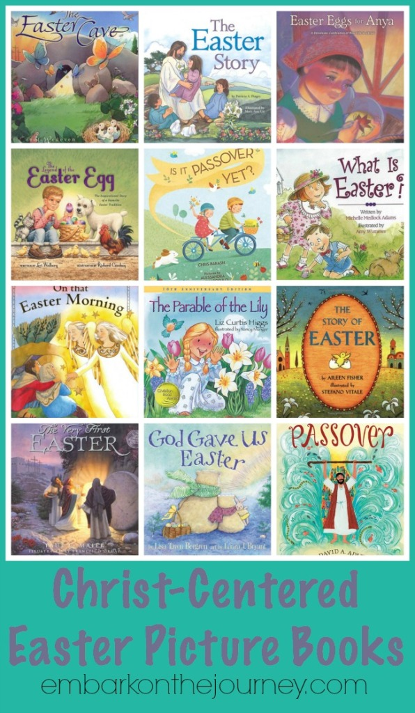 christ-centered easter picture books | embarkonthejourney.com