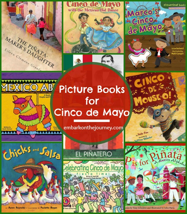 Celebrate Cinco de Mayo with these fun picture books for kids! | embarkonthejourney.com