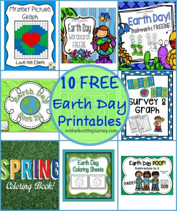 8 Earth Day Freebies for Kids