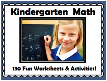 Kindergarten Math Worksheets {Review}