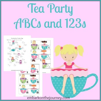 Tea Party ABCs and 123s