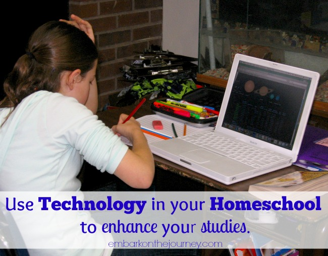 Using Technology in Your Homeschool