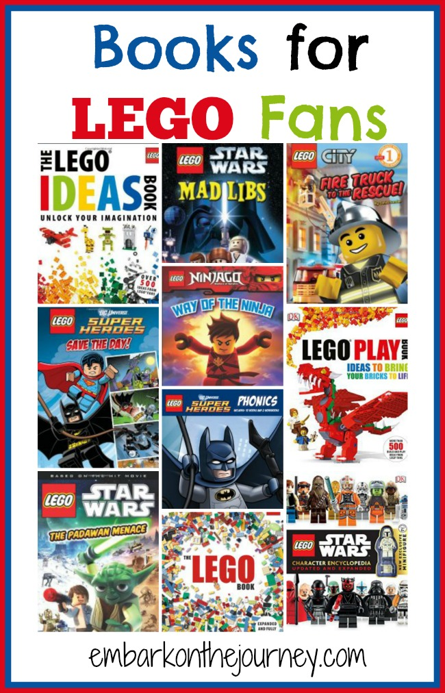 Books for LEGO Fans of All Ages! | embarkonthejourney.com